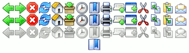 Toolbar icons arranged in a grid