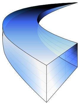 Gradient colored version of the Glacier logo